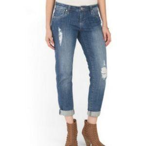 Kut from the Kloth Size 10 Celine Boyfriend Jeans